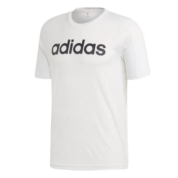 Adidas tričko KR D2M COOL Logo T white Velikost: XL