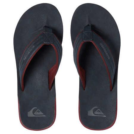 Quiksilver obuv CARVER NUBUCK Blue/Red Velikost: 42
