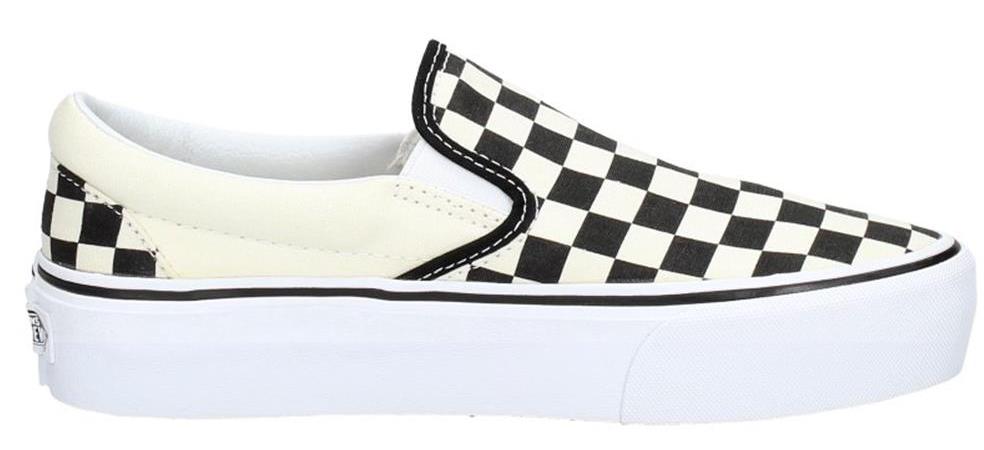 Vans obuv CLASSIC SLIPON P white/black Velikost: 7