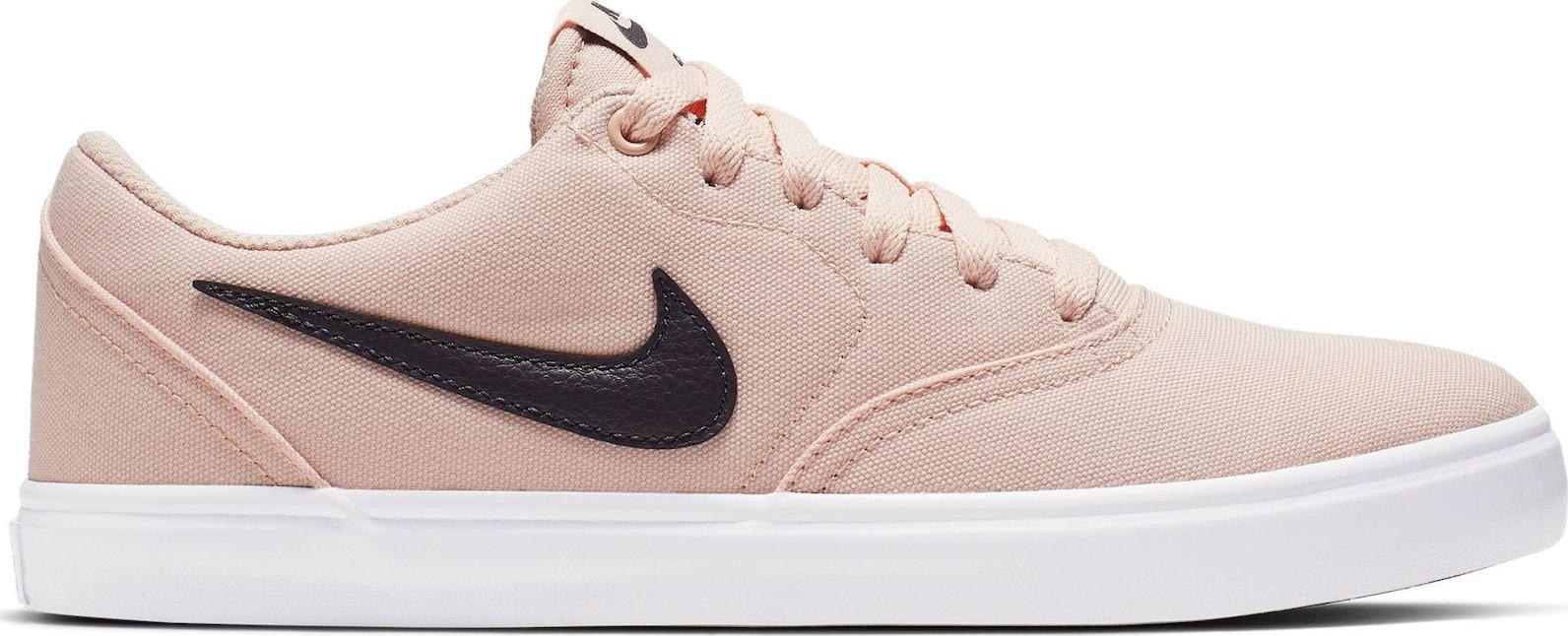 Nike obuv SB Check Solarsoft Canvas pink beige/black Velikost: 8.5