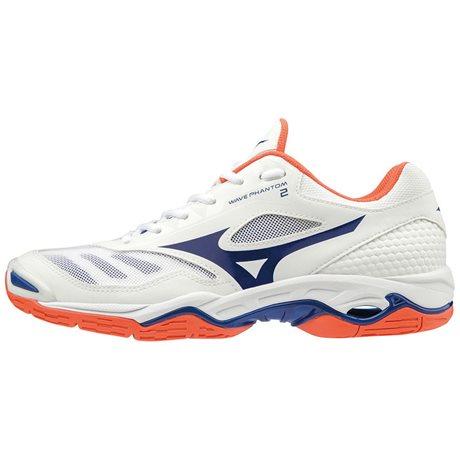 Mizuno obuv Wave Phantom 2 white/blue Velikost: 39