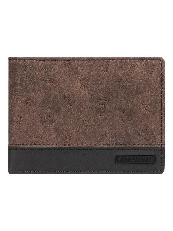 Quiksilver - peňaženka MINI MO WALLET PU chocolate brown Velikost: UNI