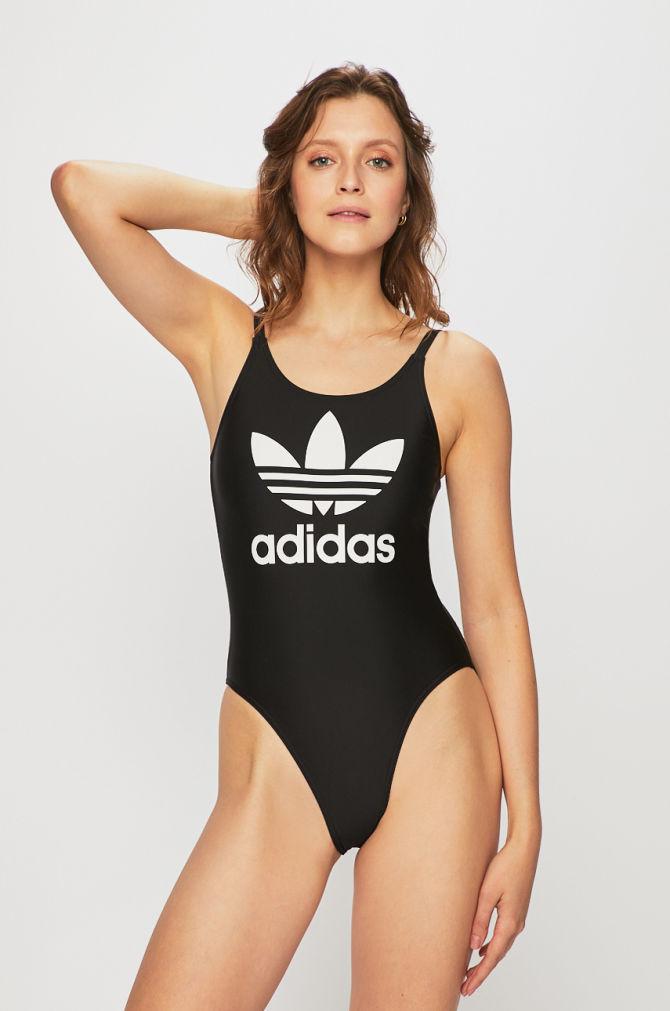 Adidas plavky TREFOIL SWIM black Velikost: 32