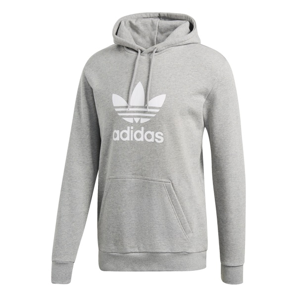 Adidas mikina TREFOIL HOODIE grey Velikost: M