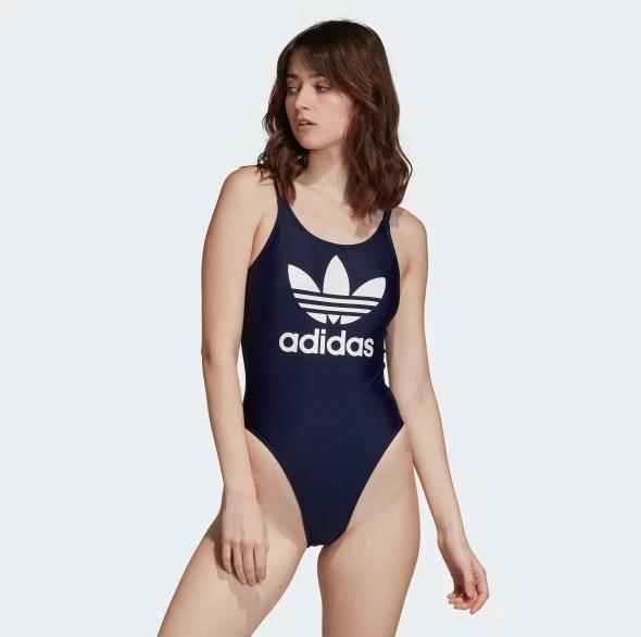 Adidas plavky TREFOIL SWIM navy Velikost: 36