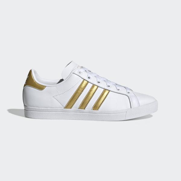Adidas obuv COAST STAR W white/gold Velikost: 4