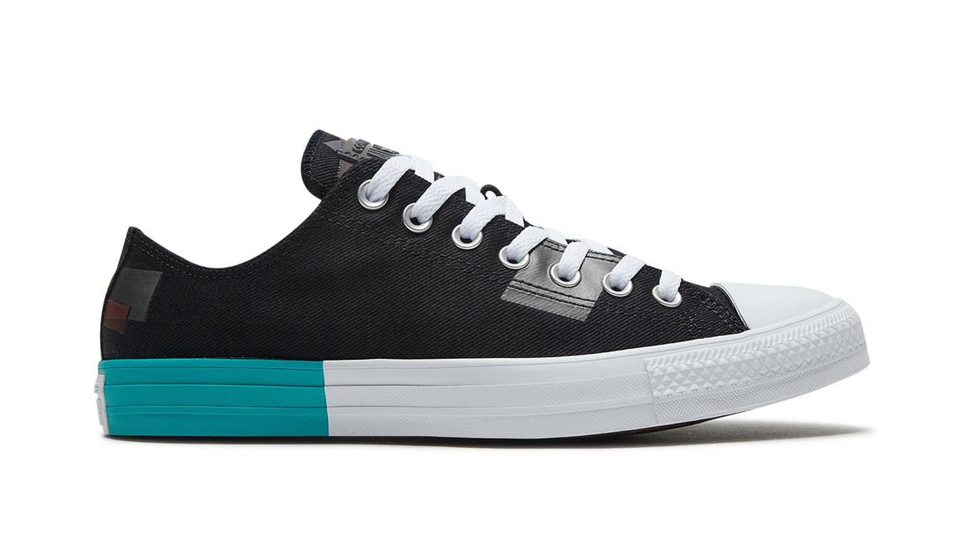 Converse obuv CHUCK TAYLOR ALL STAR black/red/white Velikost: 42,5