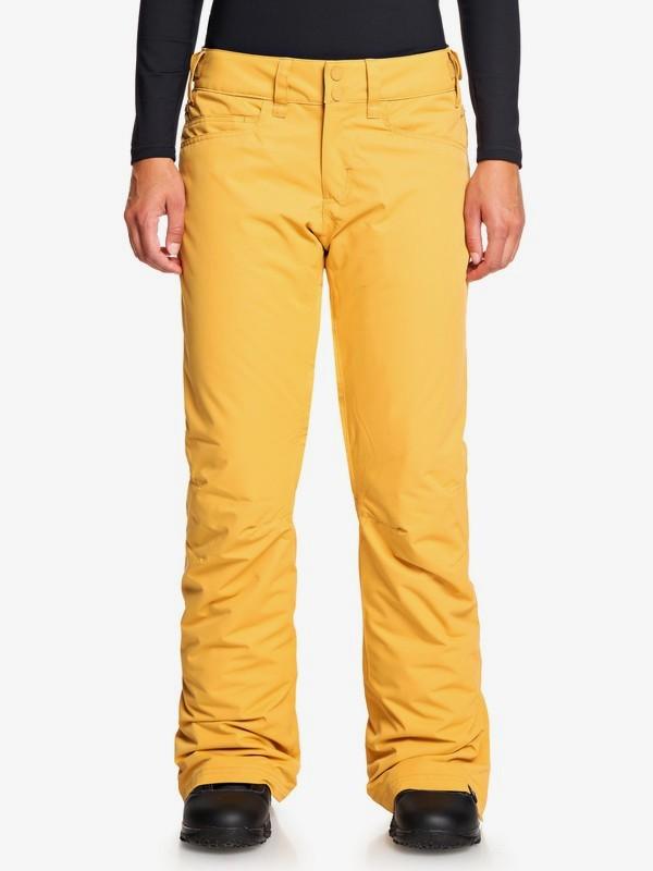 Roxy - nohavice OT BACKYARD spruce yellow Velikost: L