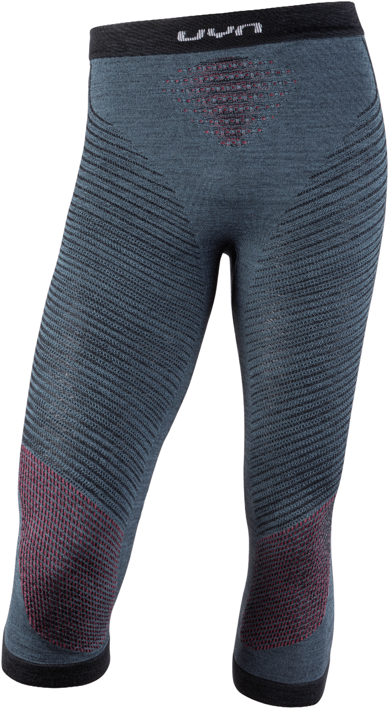 UYN - nohavice T FUSYON UW PANTS MEDIUM orion blue/bordeaux/pearl grey Velikost: S/M