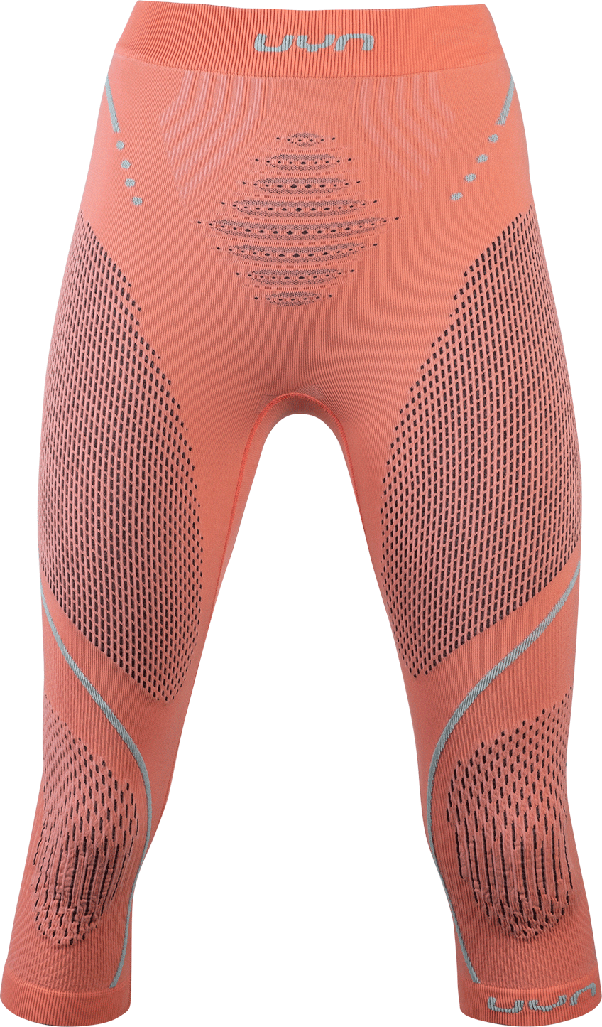 UYN - nohavice T EVOLUTYON UW PANTS MEDIUM coral/anthracite/aqua Velikost: S/M