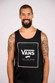 Vans - tričko BR PRINT BOX TANK black Velikost: S