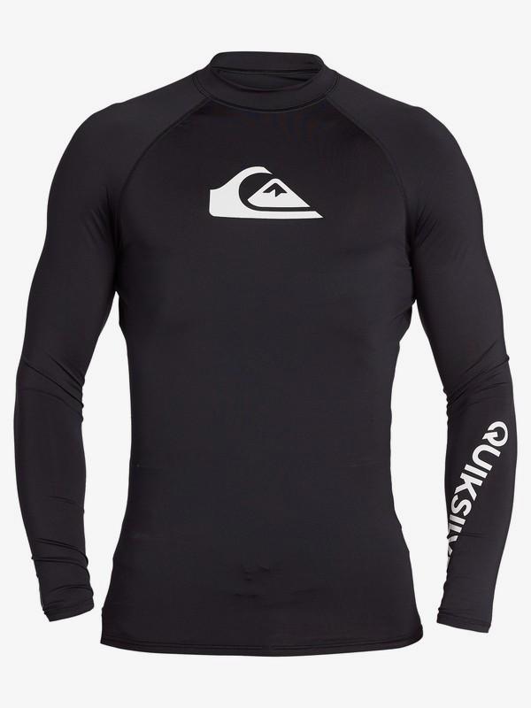 Quiksilver - tričko DR ALL TIME LS black Velikost: XXL