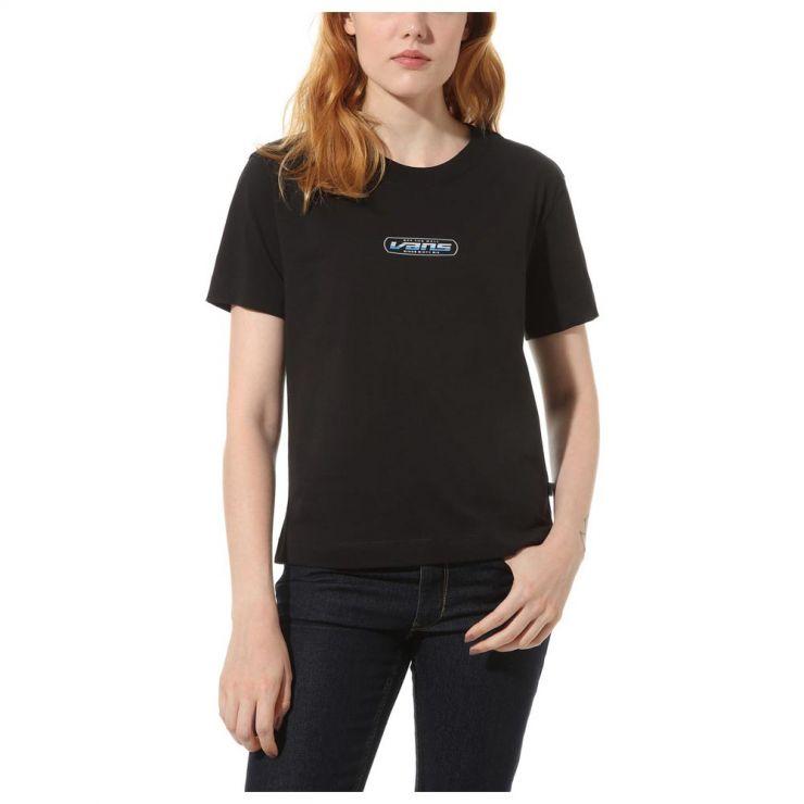 Vans tričko KR DEVOE SHIN black Velikost: L