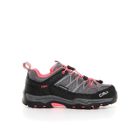 CMP obuv KIDS RIGEL LOW TREKKING SHOE WP grey/light pink Velikost: 36
