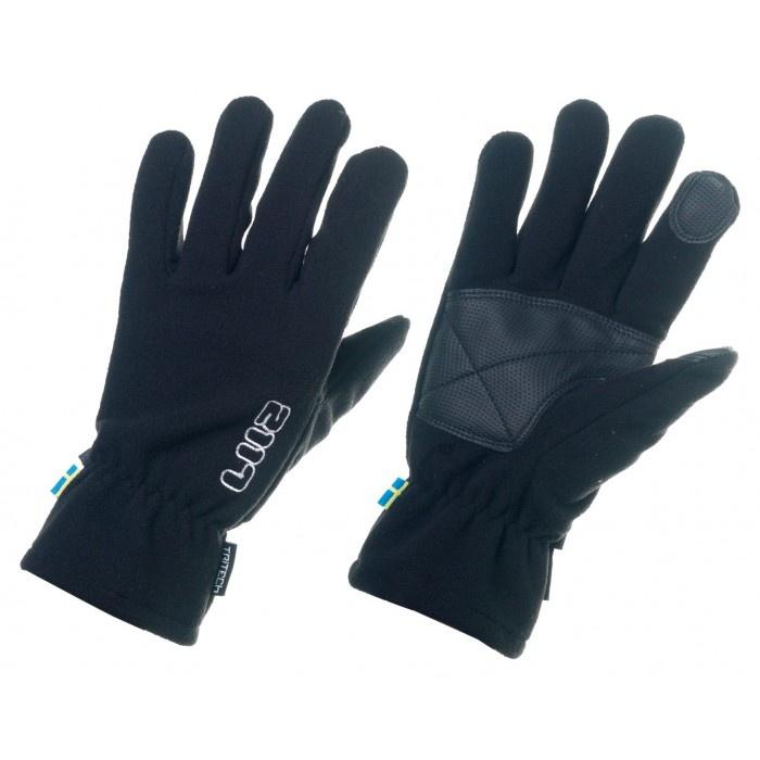 2117 of Sweden lyžiarske rukavice Borga black Velikost: 6-8