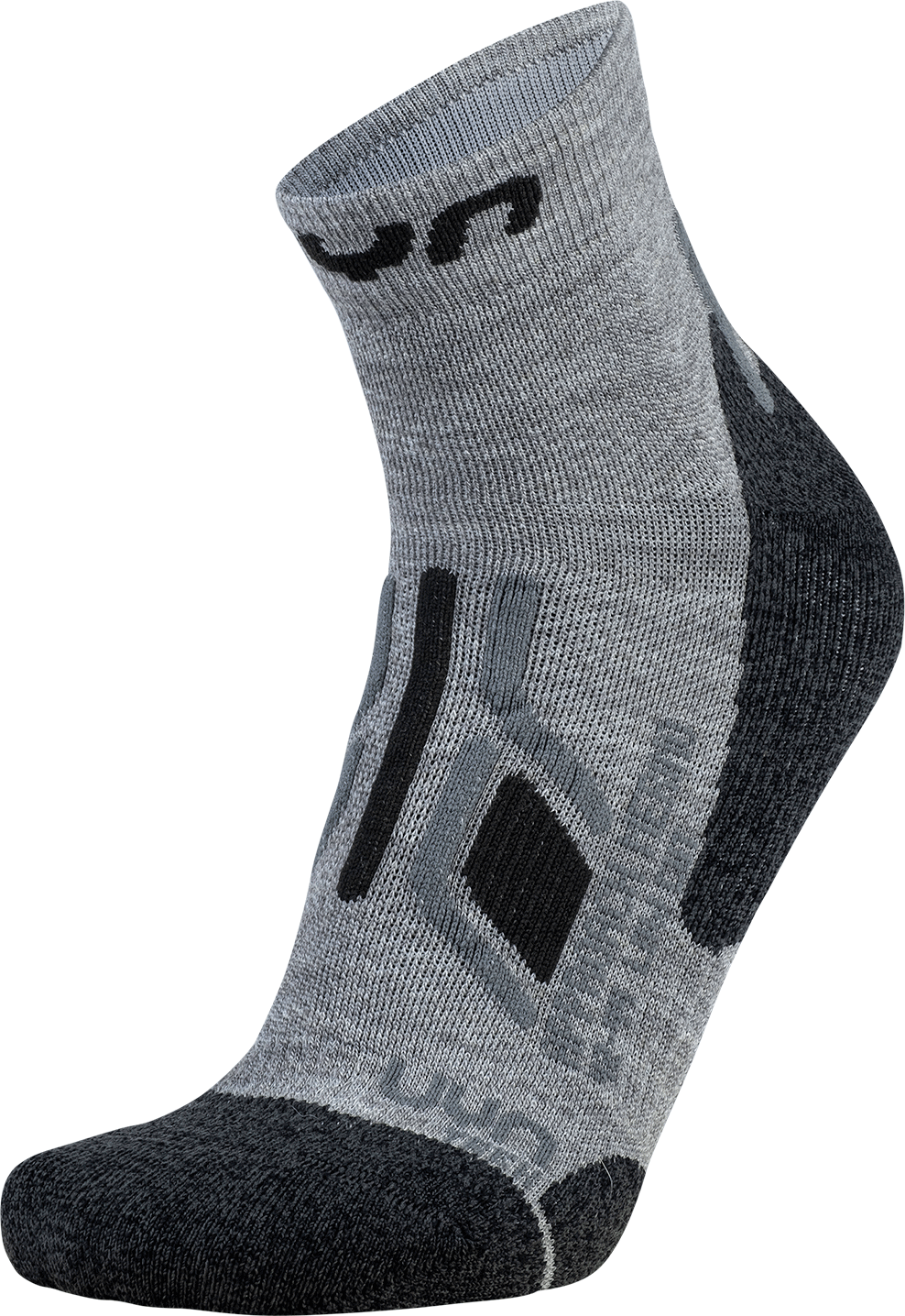 UYN ponožky T LADY TREKKING APPROACH MERINO LOW CUT SOCKS mid grey Velikost: 35-36