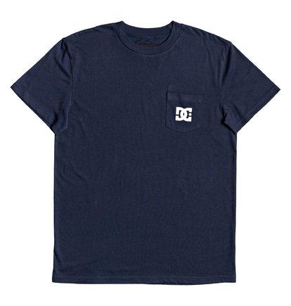 DC tričko KR Pocket Tee 203 black iris Velikost: S