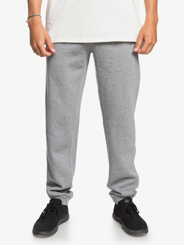 Quiksilver tepláky Essential Pants light grey heather Velikost: XXL