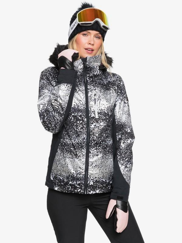 Roxy bunda Z Jet Ski Premium black Velikost: L