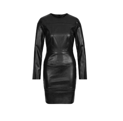 Sportalm šaty Jade Leder black Velikost: 36