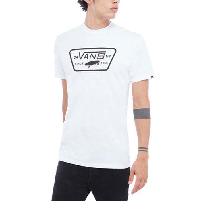 Vans - tričko FULL PATCH white/black Velikost: L
