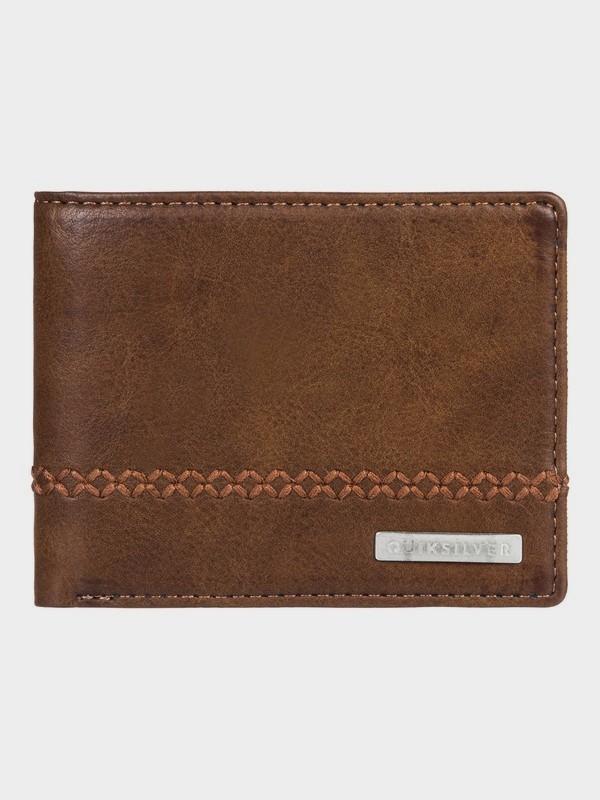Quiksilver peňaženka Stitchy 2 choolate brown Velikost: M
