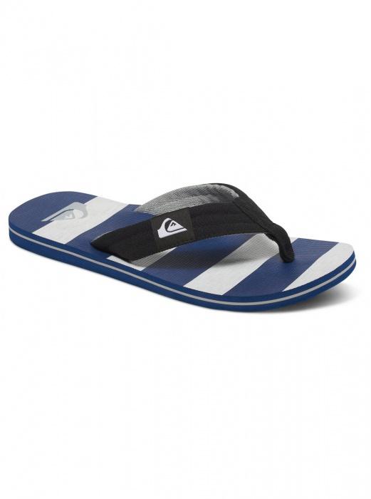 Quiksilver obuv MOLOKAI LAYBACK YOUTH BLACK/GREY/BLUE Velikost: 39