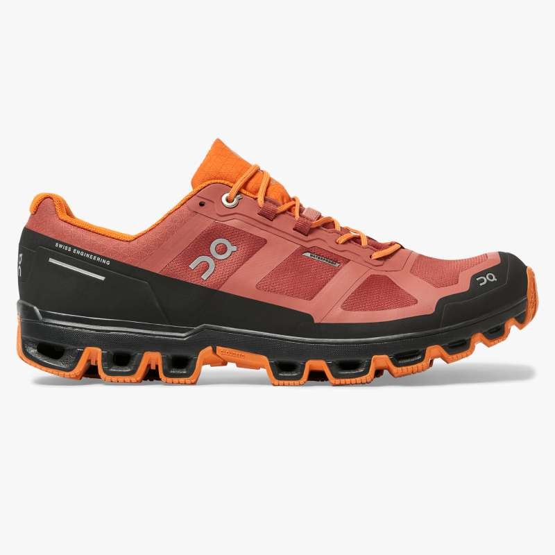 On Running obuv Cloudventure Waterproof rust/orange Velikost: 43