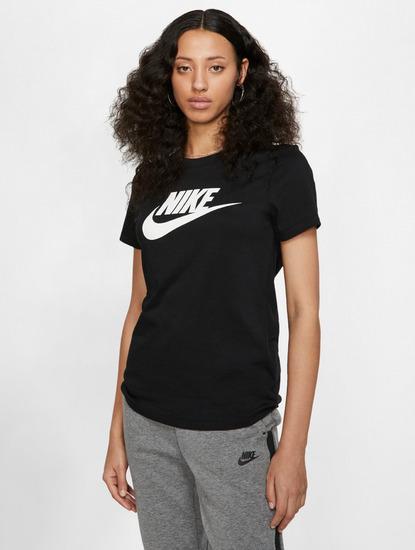 Nike tričko KR NSW Essential Icon Futura black Velikost: L