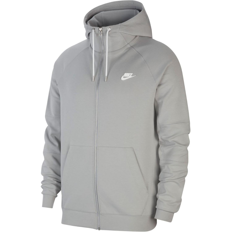 Nike mikina Sportswear Full-zip Fleece Hoodie grey Velikost: L