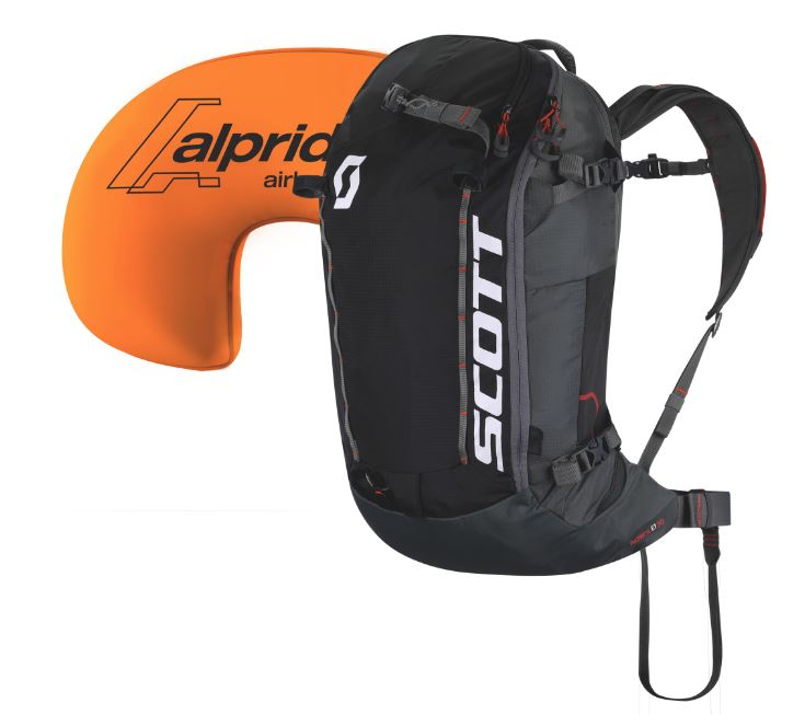 Scott lavínový ruksak Pack Patrol E1 30 Kit black/grey Velikost: 30L