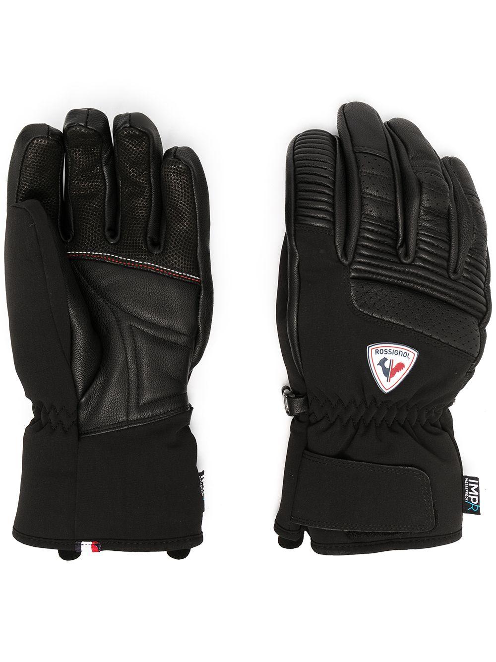 Rossignol rukavice Concept Lth Impr G black Velikost: M