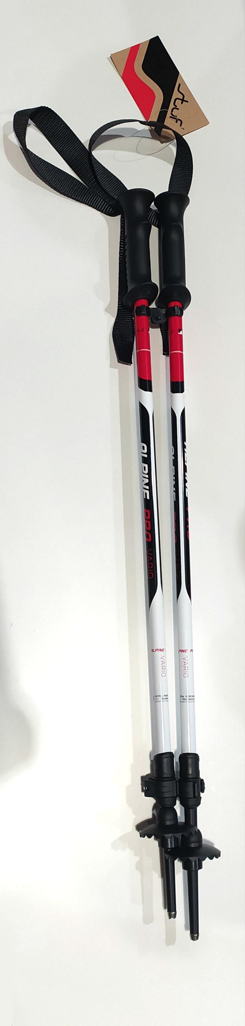 Stuf palice Alpine Pro Vario black/white/red 20/21 Velikost: UNI