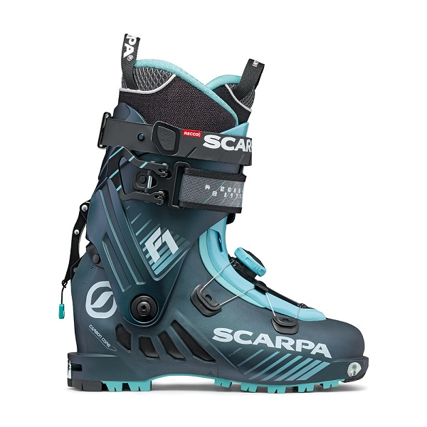 Scarpa lyžiarky Scarpa F1 95 athracite/aqua 20/21 Velikost: 240