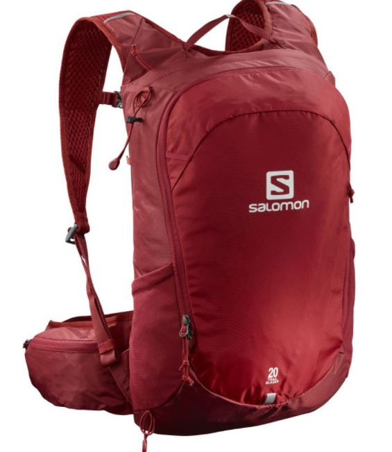 Salomon ruksak Trailblazer 20 red/ebony Velikost: UNI