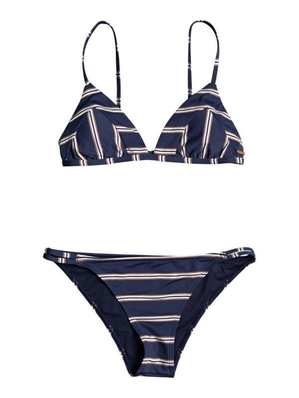Roxy plavky Moonlight Splash Tri Set mood indigo Velikost: L