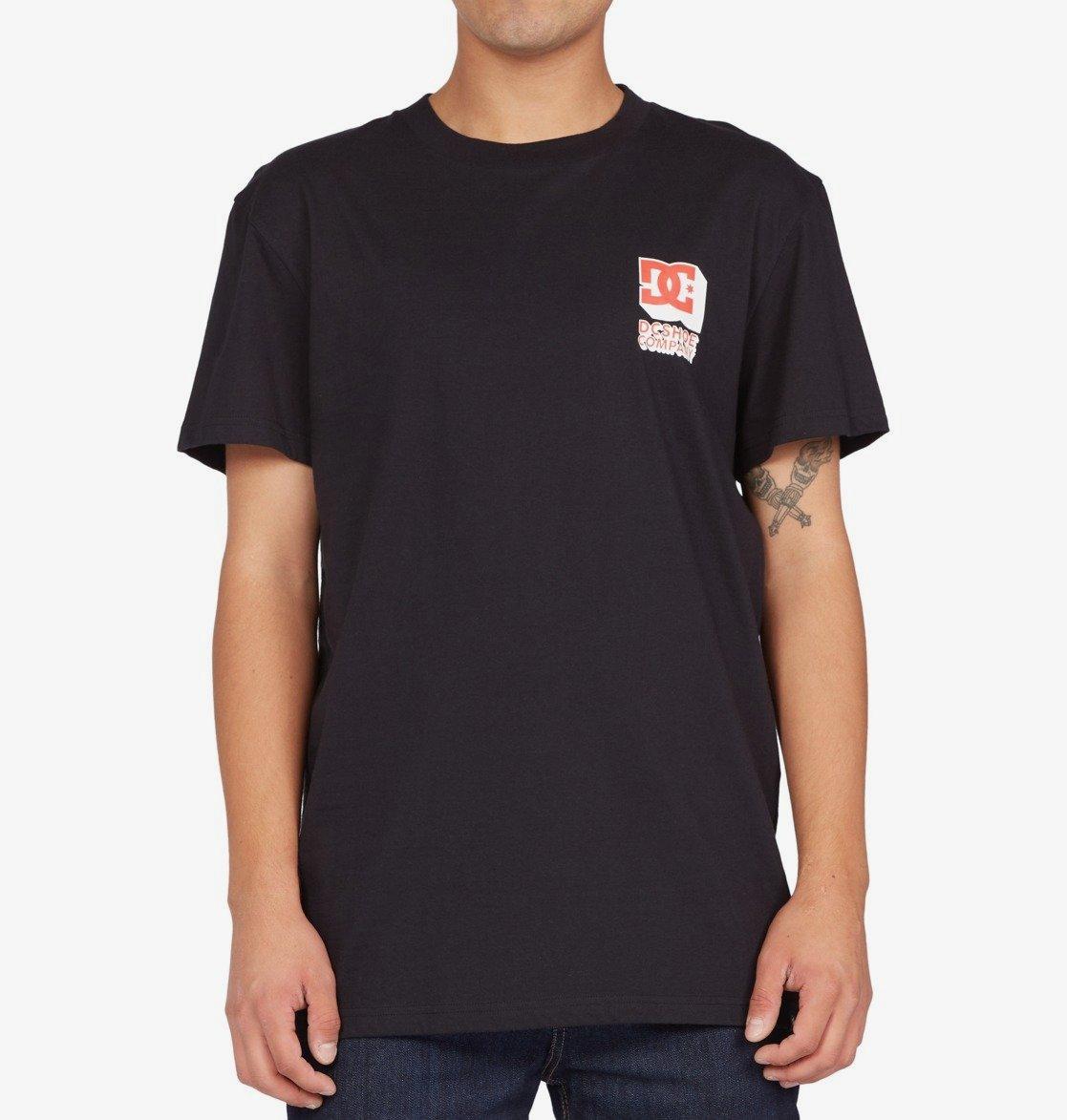 DC tričko Company Goods Tss black Velikost: S