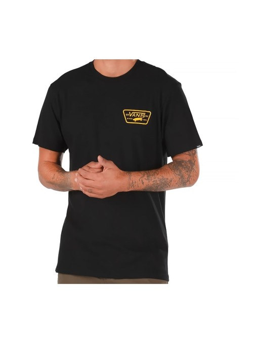 Vans tričko Full Patch Back black Velikost: M