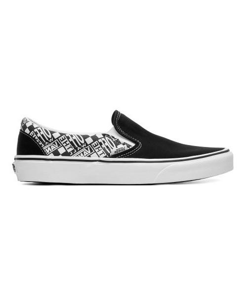 Vans obuv Classic Slip-On black asphal Velikost: 10