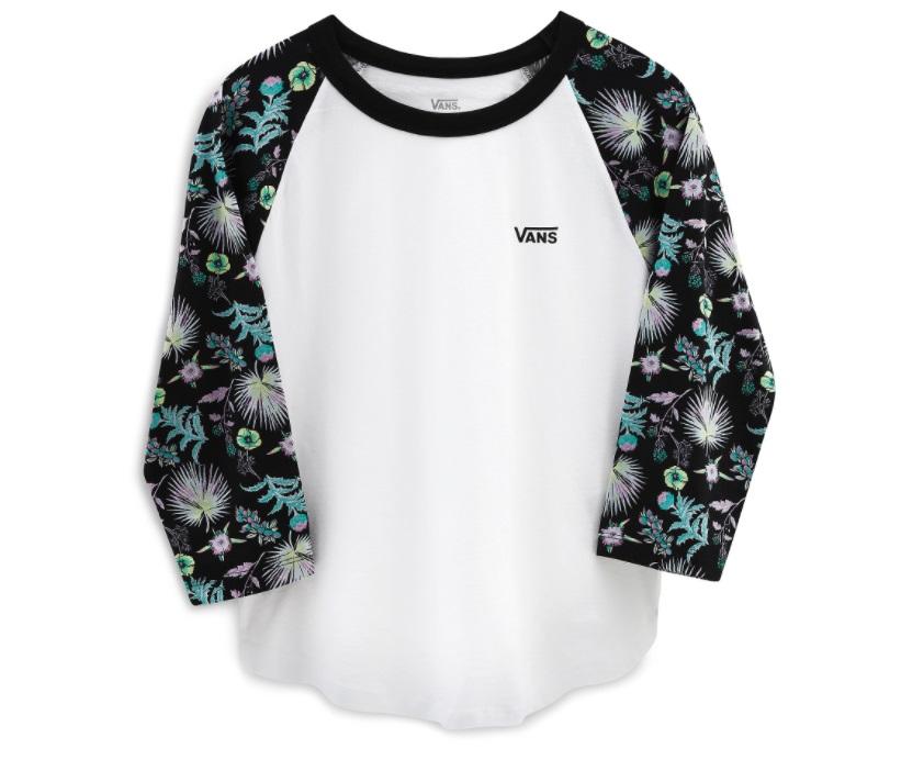 Vans tričko Califas white black Velikost: L