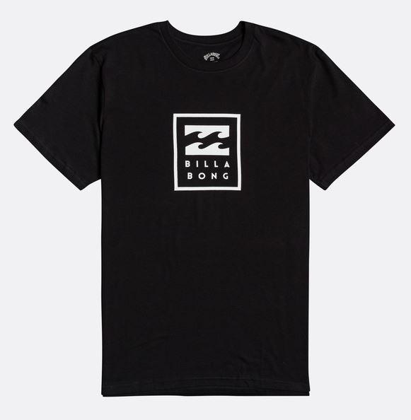 Billabong tričko Unity Stacked SS black Velikost: L