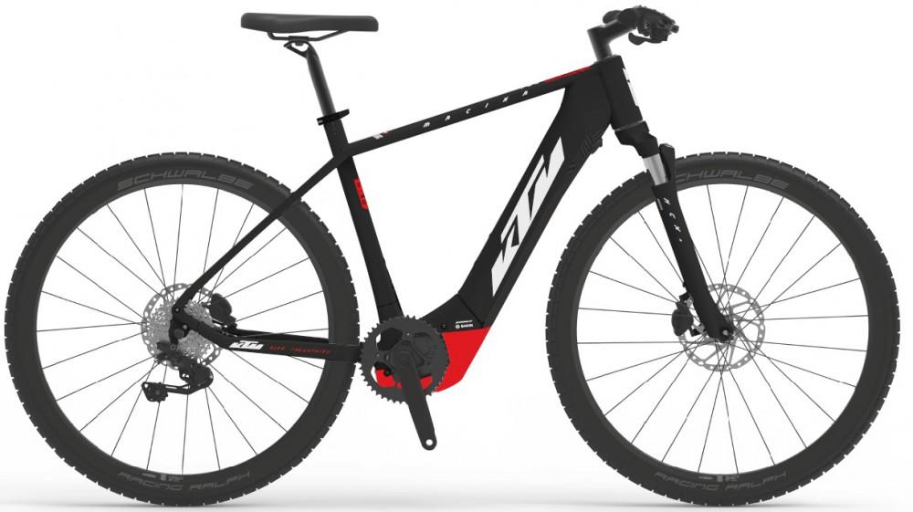KTM E-bike Macina E.Cross 620 black/red/white 2021 Velikost: 51
