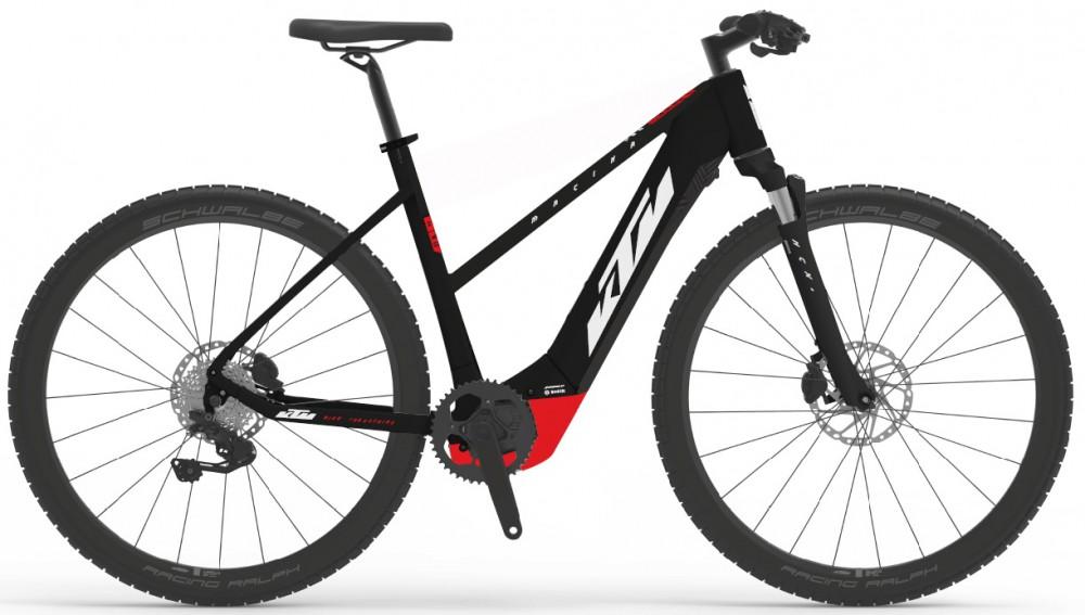 KTM E-bike Macina E.Cross 620 W black/red/white 2021 Velikost: 46