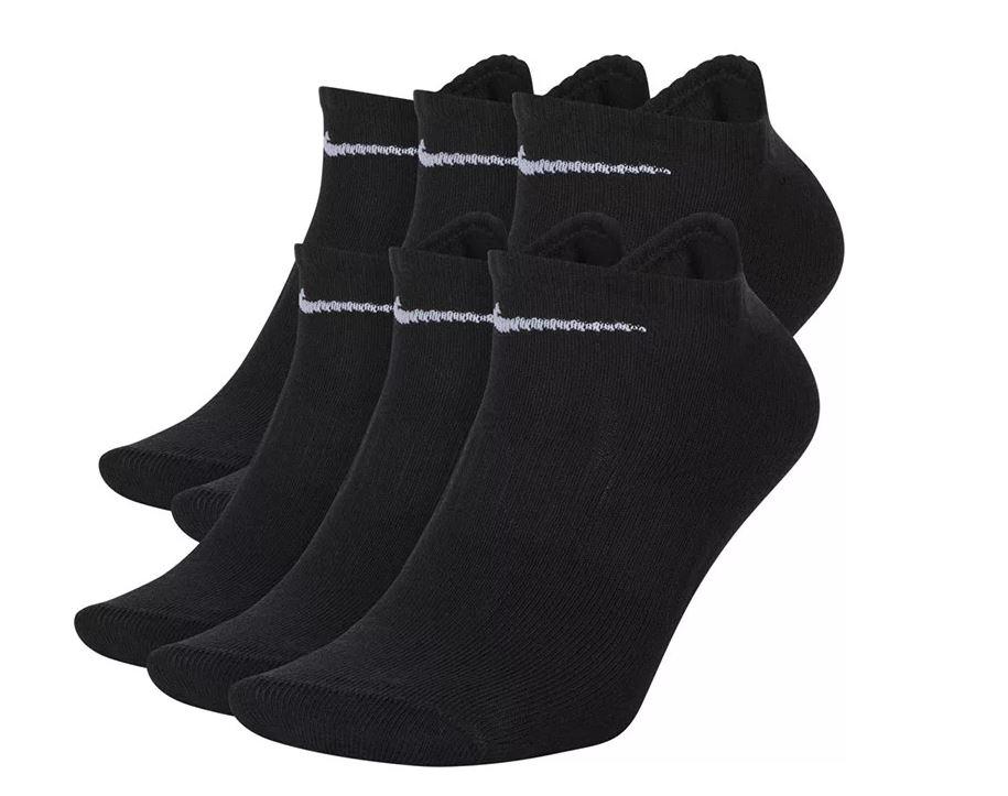 Nike ponožky Everyday Ltwt Ns 6er P. black Velikost: L