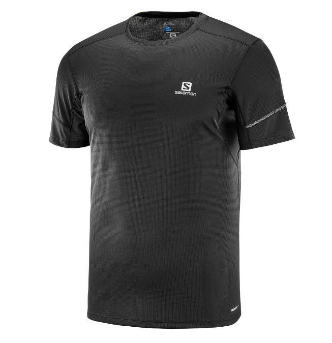 Salomon tričko Agile SS Tee black Velikost: L