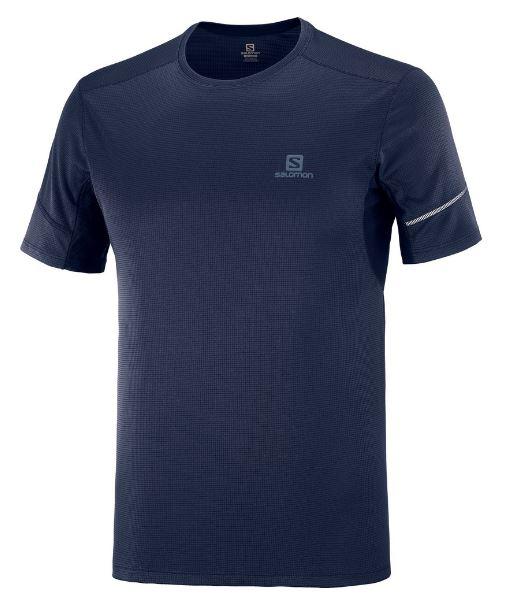 Salomon tričko Agile SS Tee night sky Velikost: L