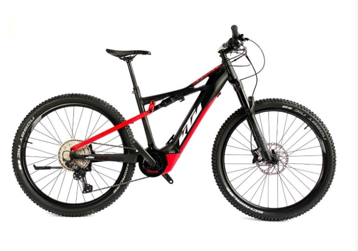 KTM E-bike Macina Chacana Ltd black/red/white 2021 Velikost: 53