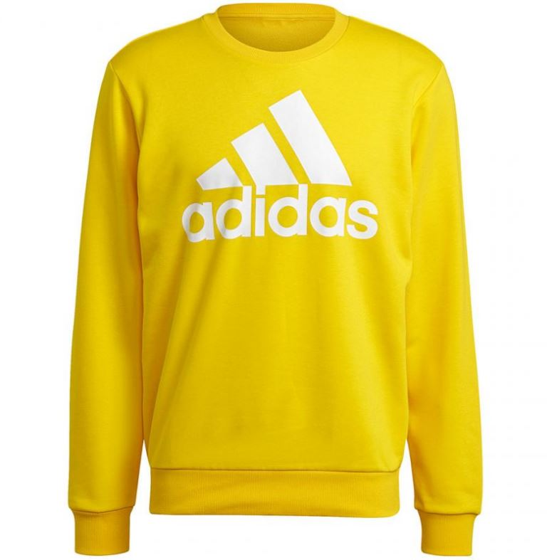 Adidas mikina M Bl Ft Swt yellow Velikost: M