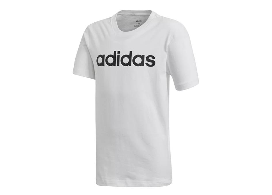 Adidas tričko Yb E Lin Tee white Velikost: 152