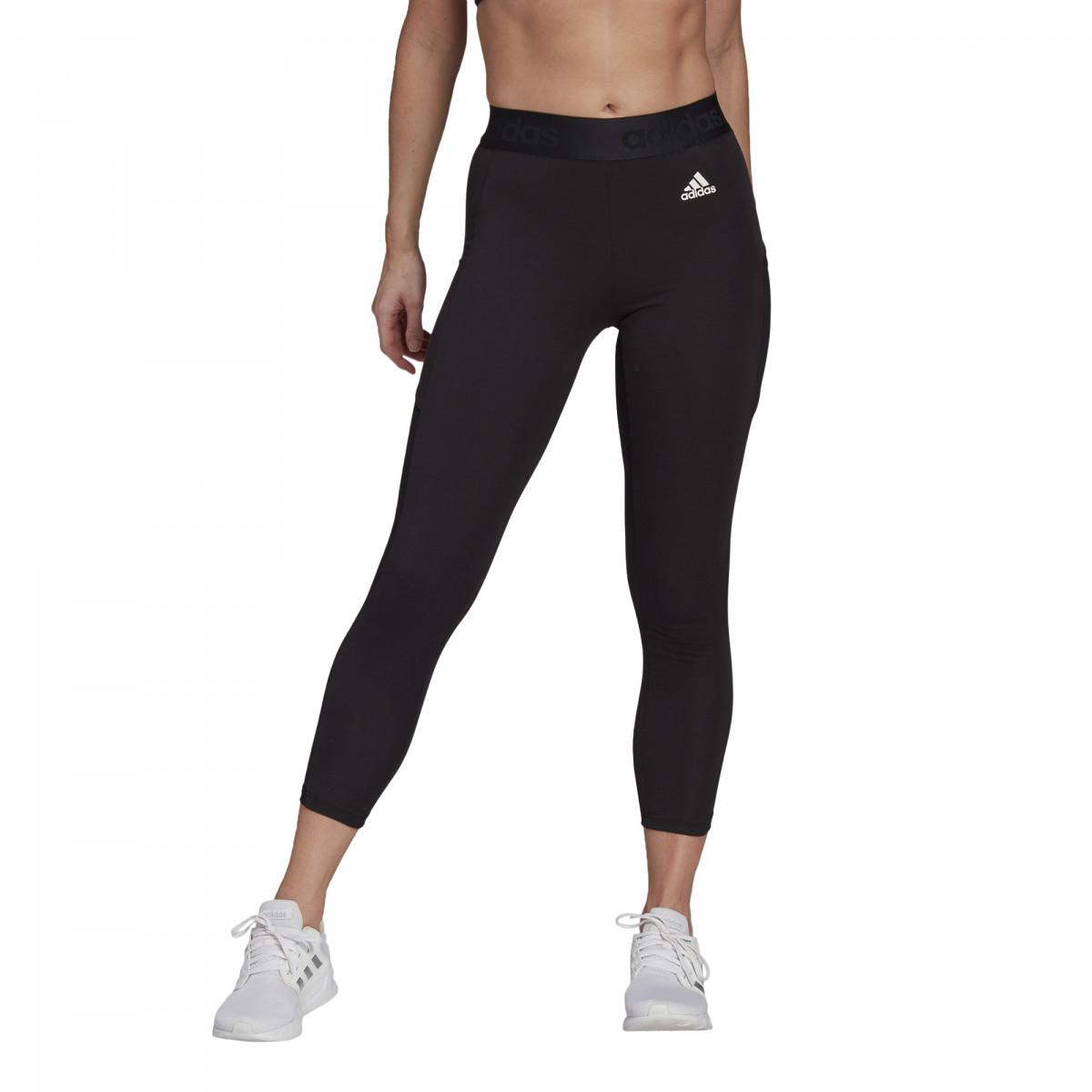 Adidas legíny W Mt 78 Tig black/white Velikost: L